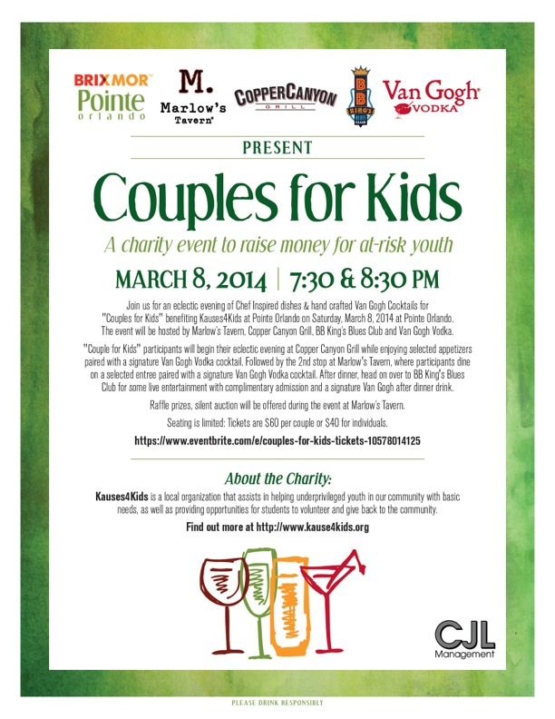 Couples for Kids March 8 2014