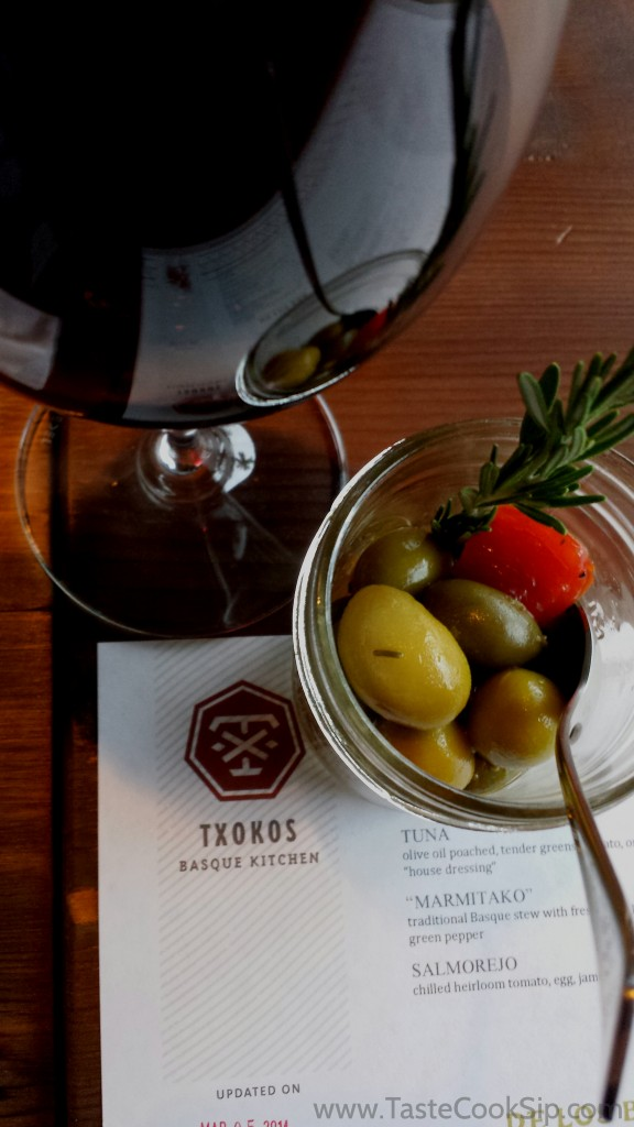Basque Olives make a great starter!
