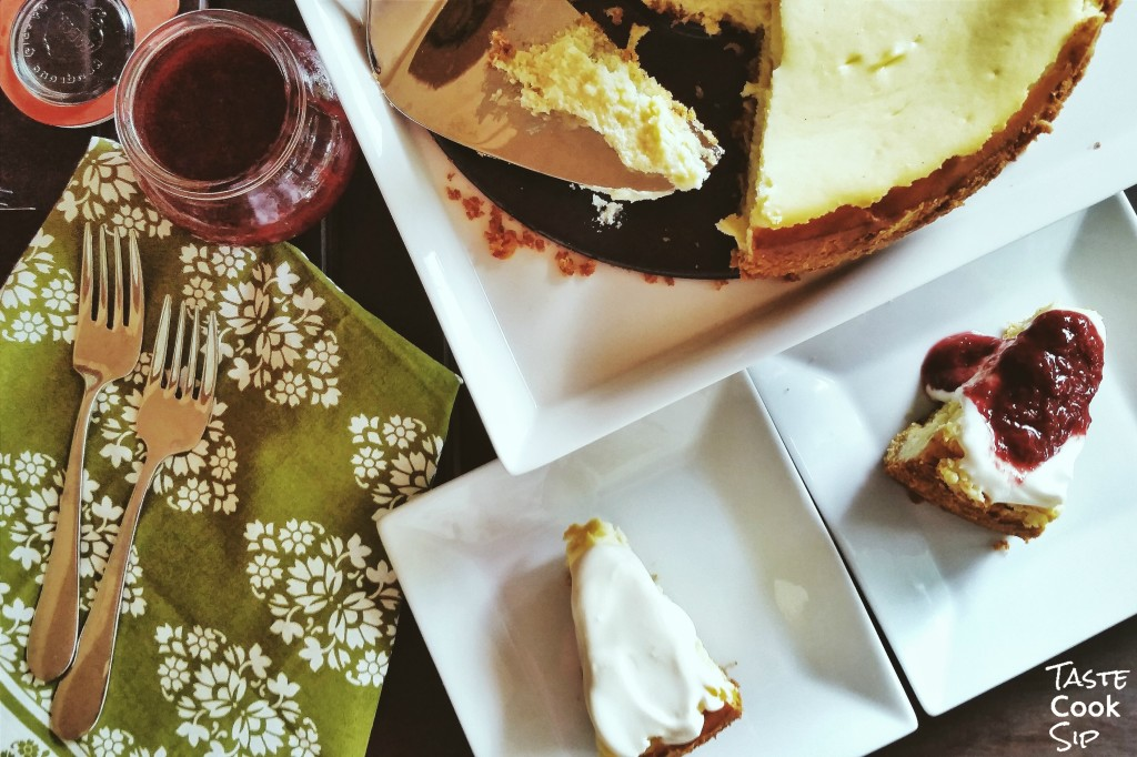 The perfect celebration for two, Moms New York Cheesecake