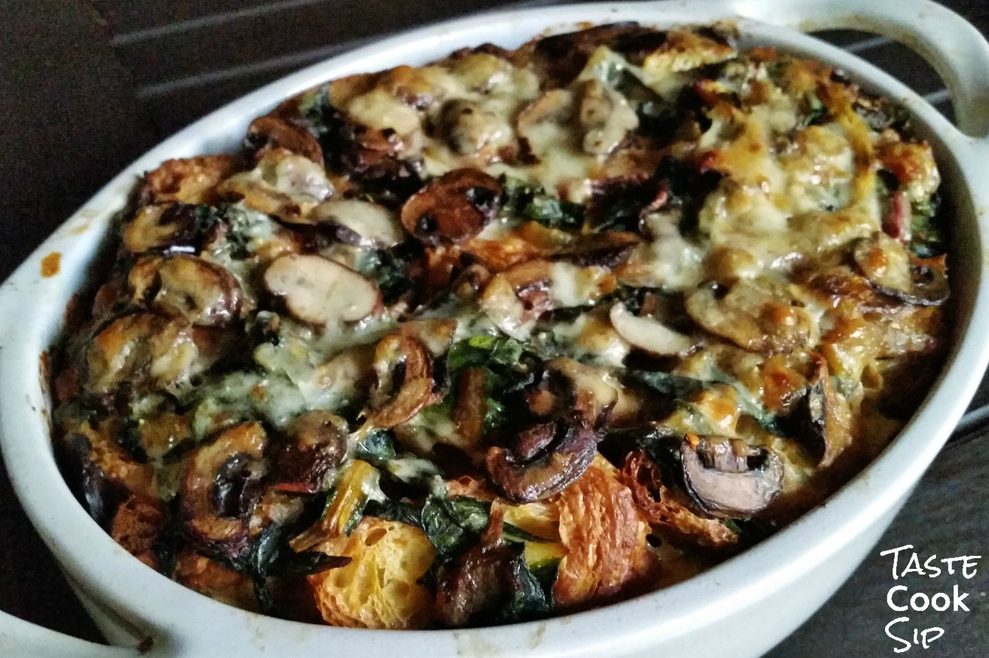 and onion melting tuscan kale as you like it breakfast casserole kale ...