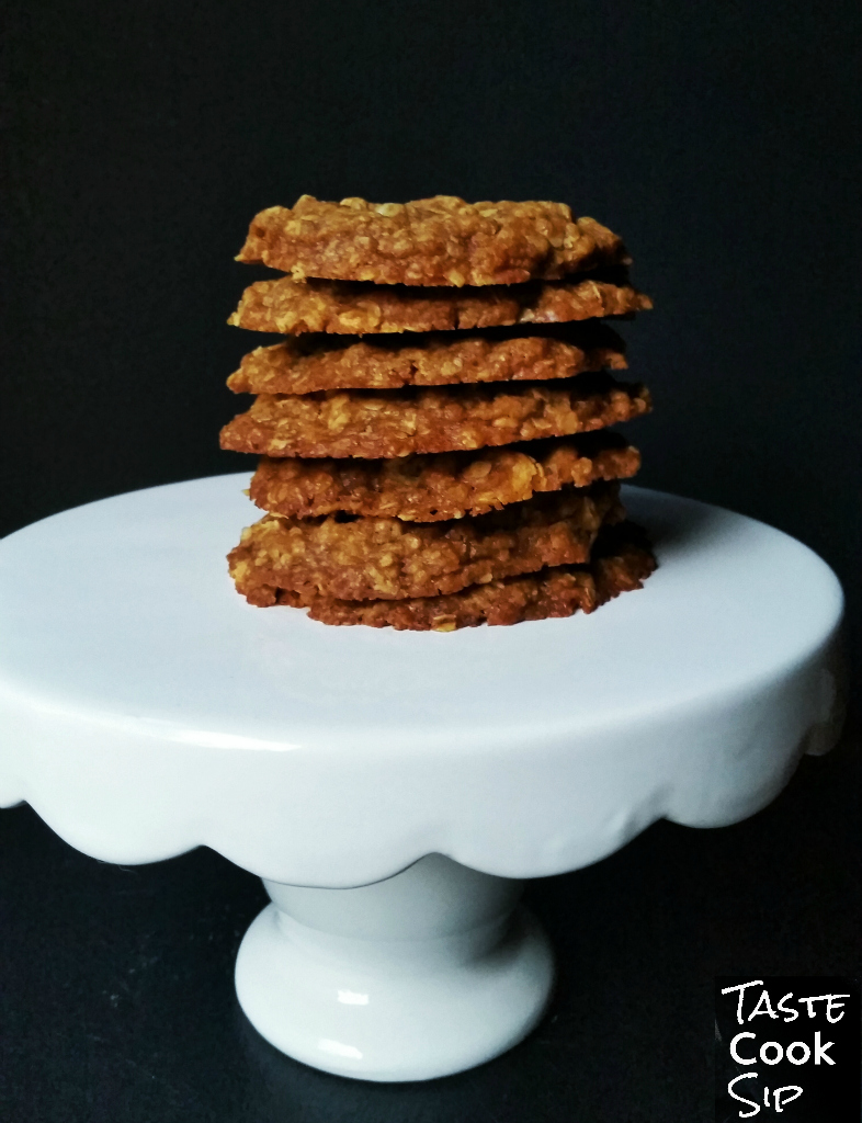Spiced Cookie Butter Butterscotch Chip Cookies - Taste ...